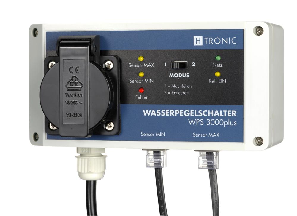Wasserpegelschalter WPS 3000 plus - von H-Tronic - Wasser-Shop24
